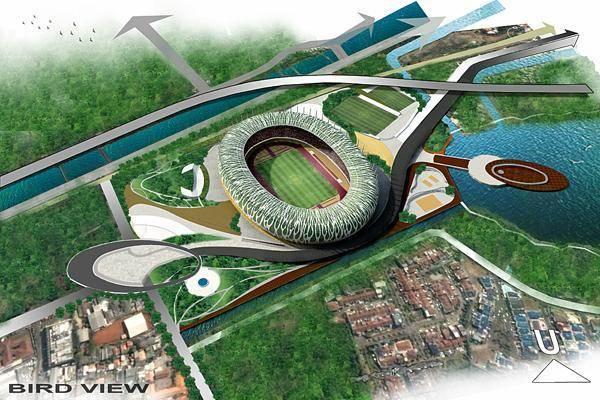 Julio Julianto Football Stadium At Bmw Garden Jakarta, Indonesia Jakarta, Indonesia Bird-Eye-View-3 Kontemporer 5864