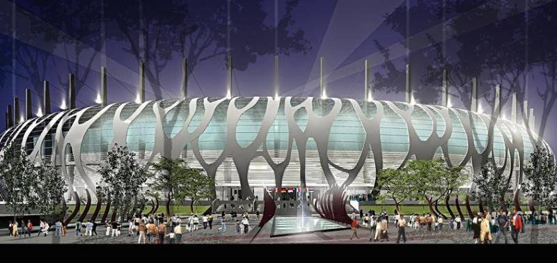 Julio Julianto Football Stadium At Bmw Garden Jakarta, Indonesia Jakarta, Indonesia Perspective-2 Kontemporer 5868