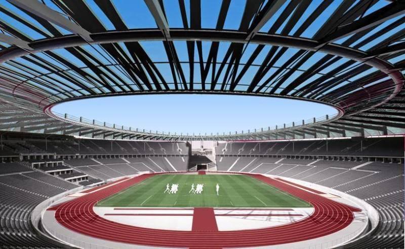 Julio Julianto Football Stadium At Bmw Garden Jakarta, Indonesia Jakarta, Indonesia Tribune-View Kontemporer 5869