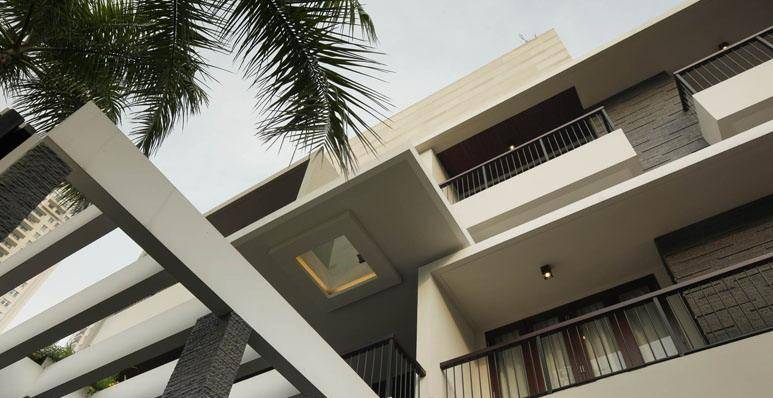 Julio Julianto The Line House At Kelapa Gading Jakarta, Indonesia Jakarta, Indonesia Perspective-2 Modern 5921