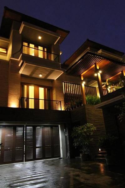 Julio Julianto Balinese Modern House At Pantai Indah Kapuk Jakarta, Indonesia Jakarta, Indonesia Facade-View Modern 5936