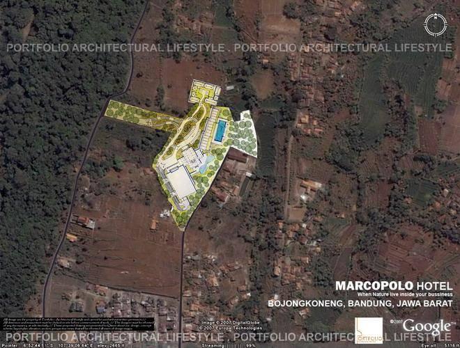 Julio Julianto Marcopolo Hotel Bandung, Indonesia Bandung, Indonesia Site-Plan-1  5950
