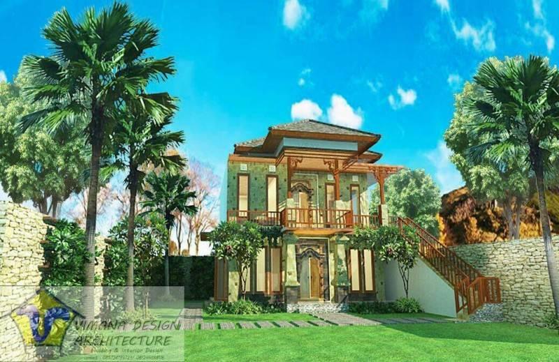 Vimana Design And Architecture House At Badung Bandung Bandung Front-View-2 Asian 6125