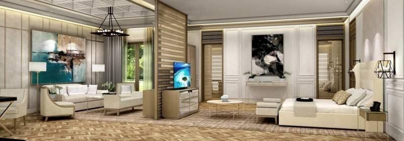 Yaph Studio Private Residence At Pondok Indah Jakarta, Indonesia Jakarta, Indonesia Bedroom-And-Livingroom-1  6133