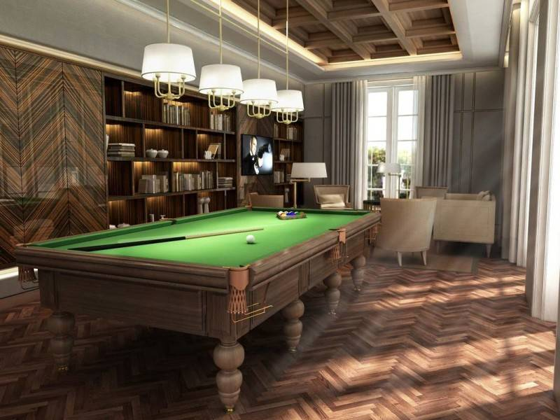 Yaph Studio Hang Tuah Residence Jakarta, Indonesia Jakarta, Indonesia Billiard-Table  6147
