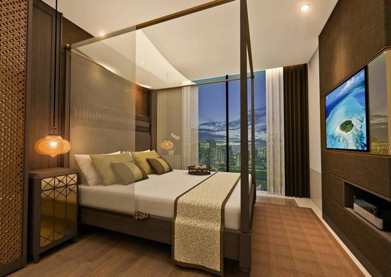 Yaph Studio Kemang Village Apartment Jakarta, Indonesia Jakarta, Indonesia Bedroom-3  6155