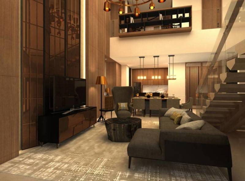 Yaph Studio Kemang Village Apartment Jakarta, Indonesia Jakarta, Indonesia Livingroom  6158