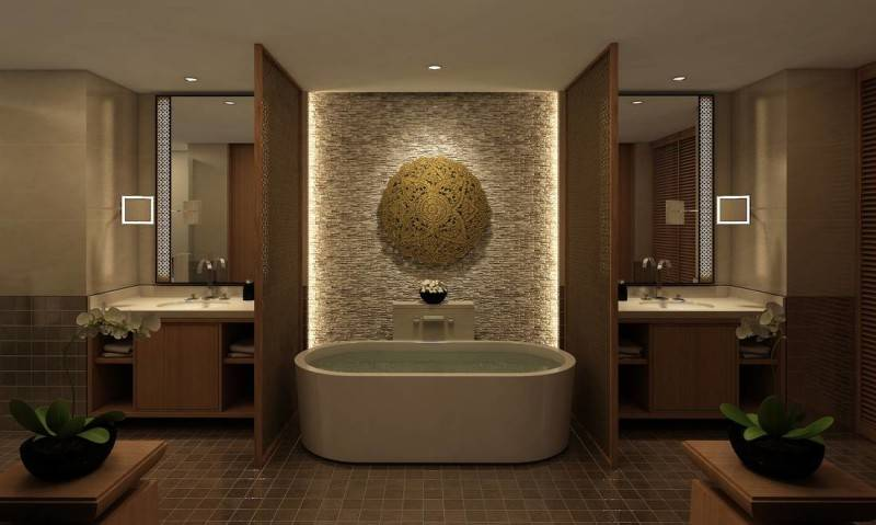Yaph Studio Sultan Hotel At Senayan Jakarta, Indonesia Jakarta, Indonesia Bathtub  6195