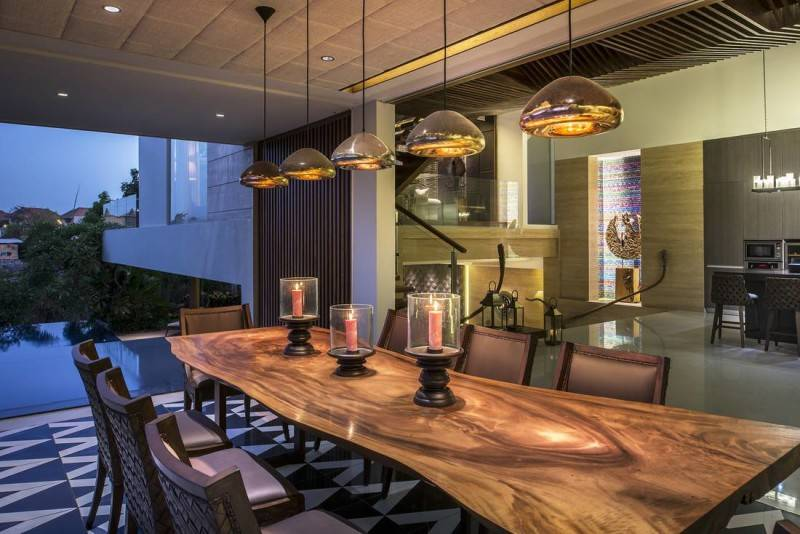 Yaph Studio Manhattan Villa At Canggu Bali, Indonesia Bali, Indonesia Dining-Table Modern 6254