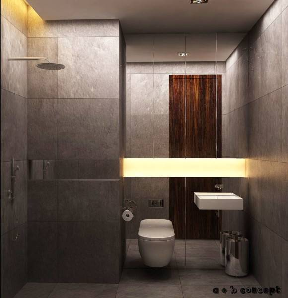 Ruang Komunal Kemang Studio Apartment Kemang Village Apartment Kemang Village Apartment Bathroom Modern 6545