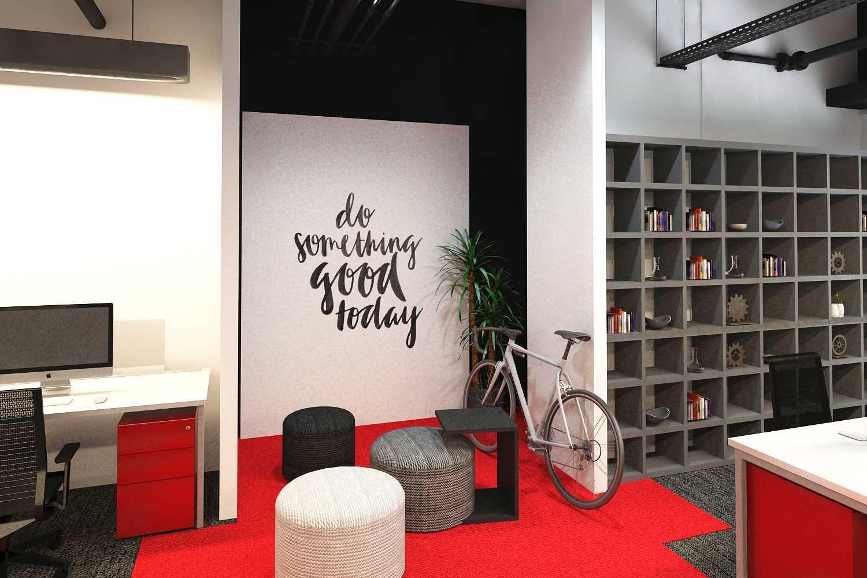 Ruang Komunal Automobile Office Tangerang, Tangerang City, Banten, Indonesia Tangerang Collaboration Modern 15508