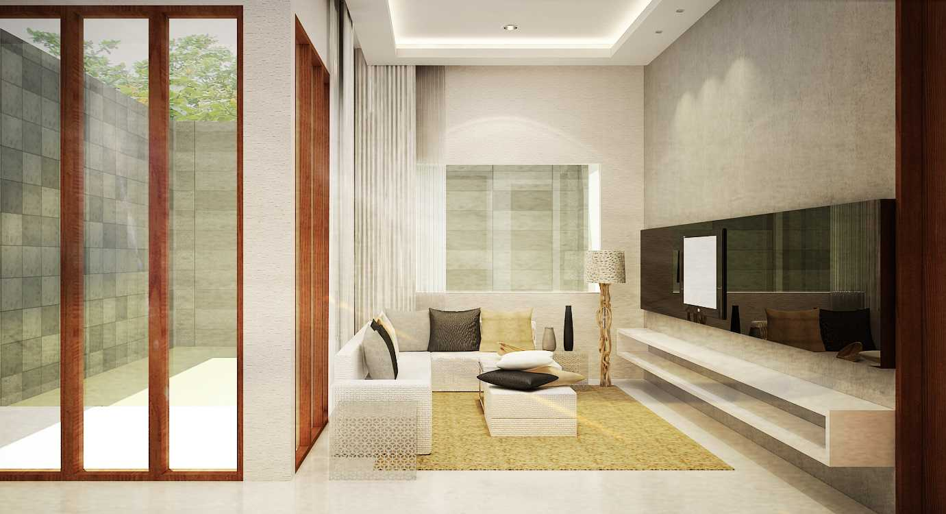 Ruang Komunal Tropic House Tegal Tegal Living-Room-View Modern 15985
