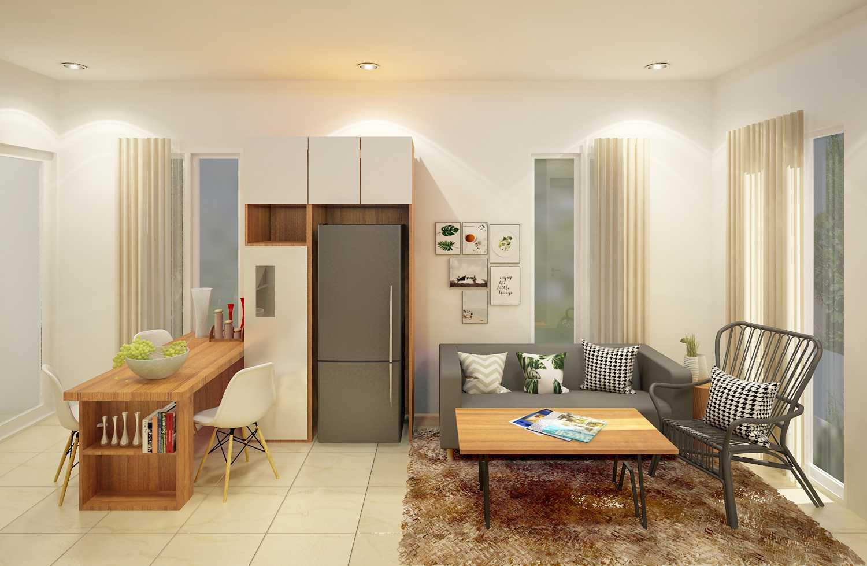 Ruang Komunal Darmawangsa Show Unit Bekasi Bekasi Living-2 Modern 21509