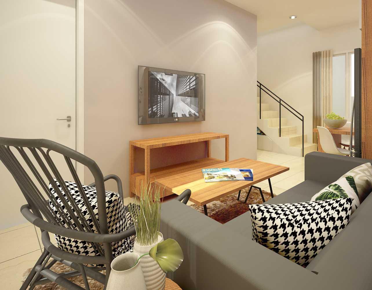 Ruang Komunal Darmawangsa Show Unit Bekasi Bekasi Living-3 Modern 21510