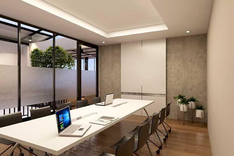 Foto inspirasi ide desain ruang meeting industrial Meeting room oleh ruang komunal di Arsitag