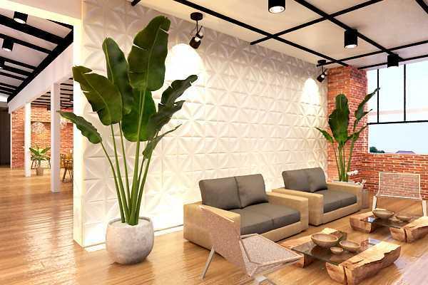 Ruang Komunal Grand Caman Hotel Bekasi, Kota Bks, Jawa Barat, Indonesia Bekasi, Kota Bks, Jawa Barat, Indonesia Seating Area Hotel Industrial 53157