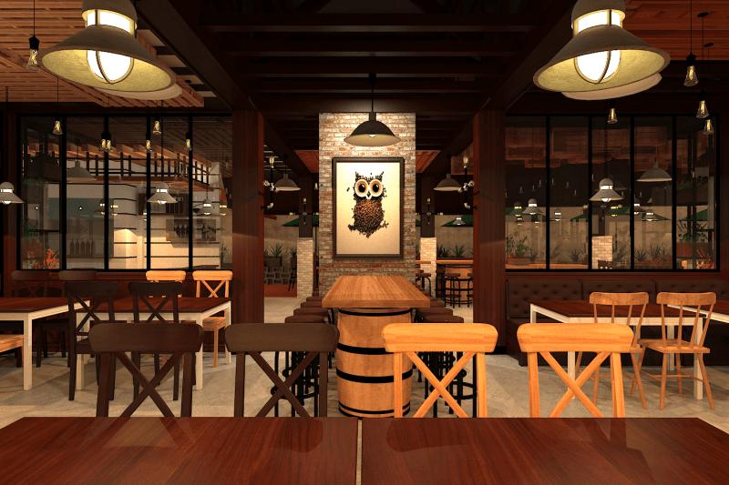Ambrose Living Cafe  Jakarta Jakarta View-6 Modern 6520