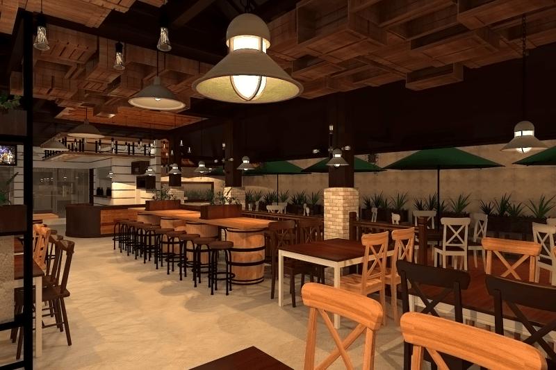 Ambrose Living Cafe  Jakarta Jakarta View-7 Modern 6521