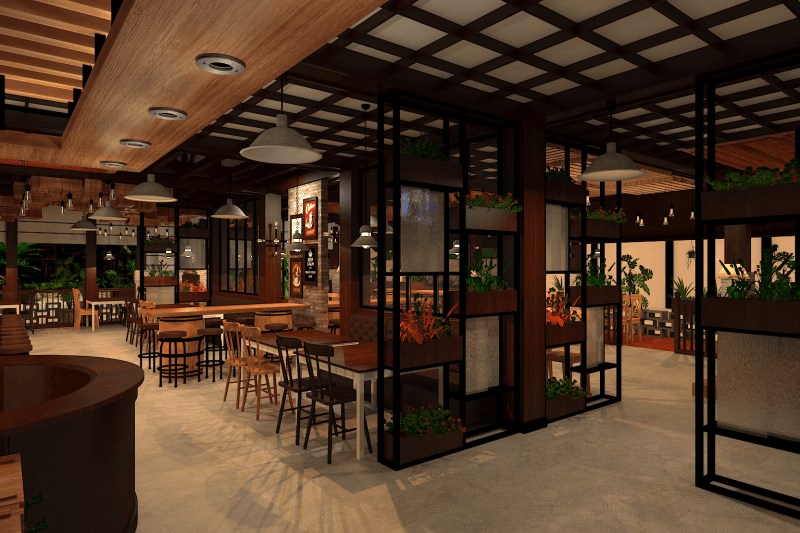 Ambrose Living Cafe  Jakarta Jakarta View-8 Modern 6522
