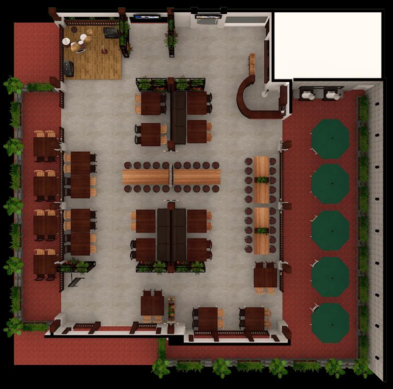 Ambrose Living Cafe  Jakarta Jakarta View-Top Modern 6524