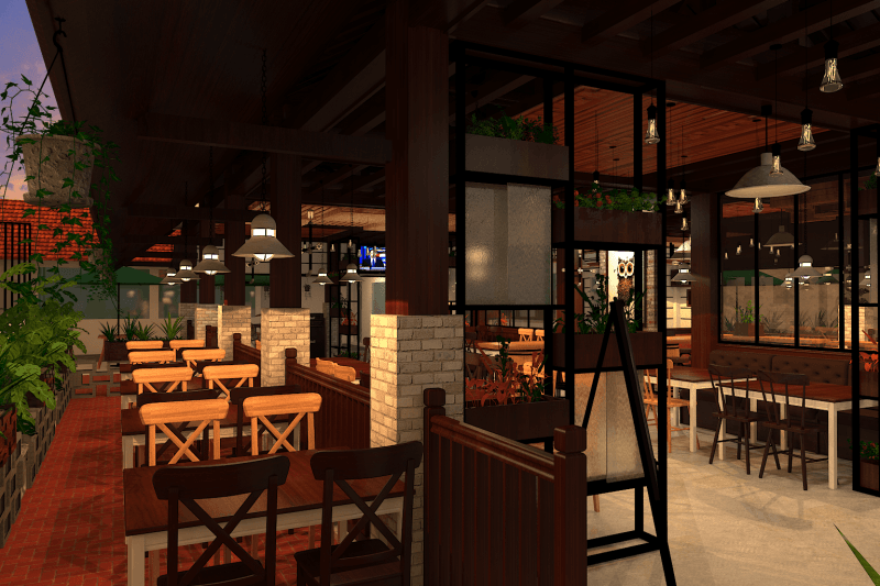 Ambrose Living Restaurant Jakarta Barat Jakarta Barat View-5  7286