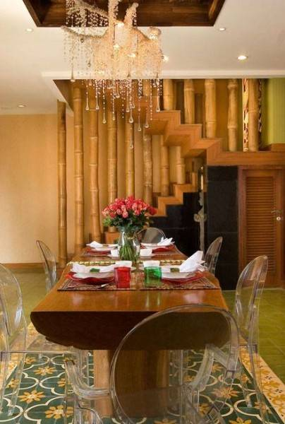 Iwan Sastrawiguna Modern Ethnic House Jakarta, Indonesia Jakarta, Indonesia Eclectic-Diningroom Kontemporer 6613