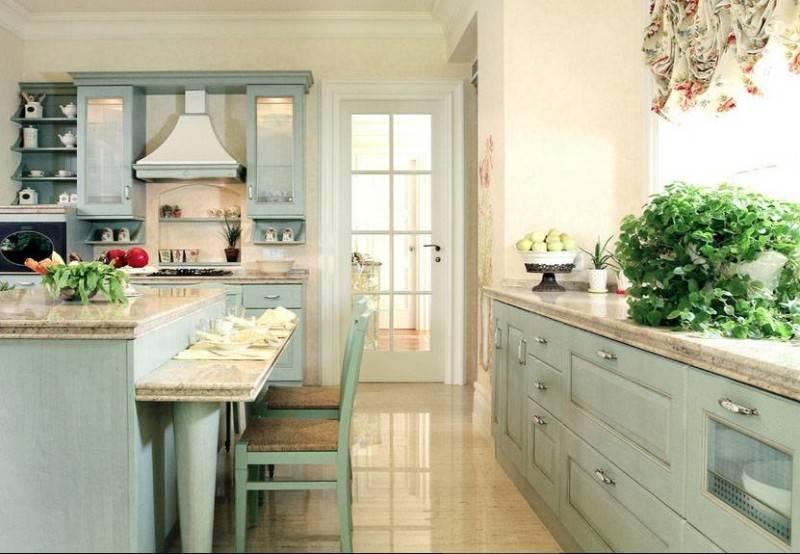 Foto inspirasi ide desain dapur kontemporer French-country-kitchen oleh Iwan Sastrawiguna di Arsitag