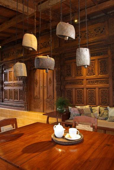 Iwan Sastrawiguna Javanese Reclaimed Wooden House Indonesia Indonesia Gebyok-Porch2 Kontemporer 6644