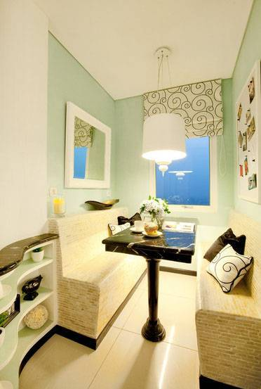 Iwan Sastrawiguna Black & White Apartment United States United States Banquette Kontemporer 6657