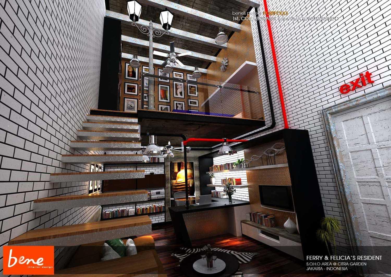Bene Rumah Tinggal Citra Garden Jakarta Jakarta Stairs  12809