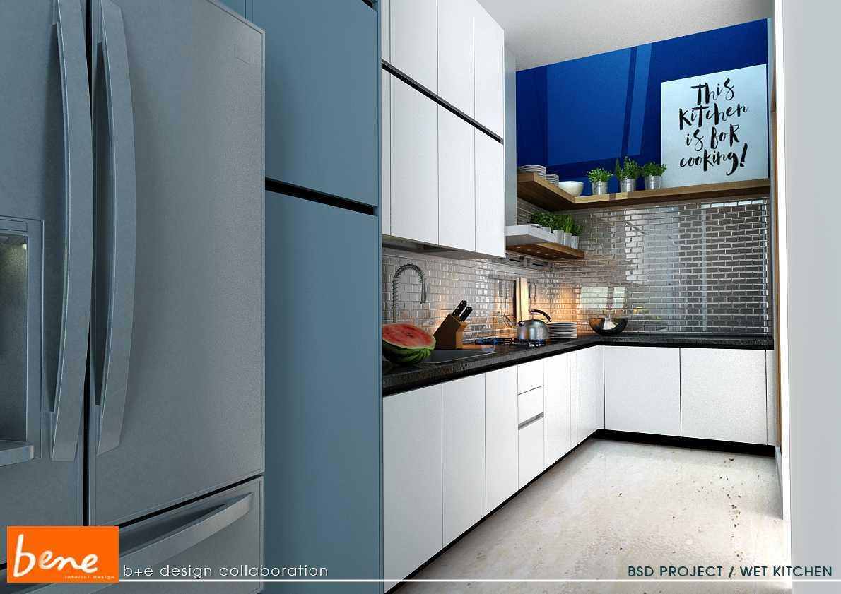 Bene Kitchen Desain Bsd Bsd Wet-Kitchen-View-01 Modern 12811