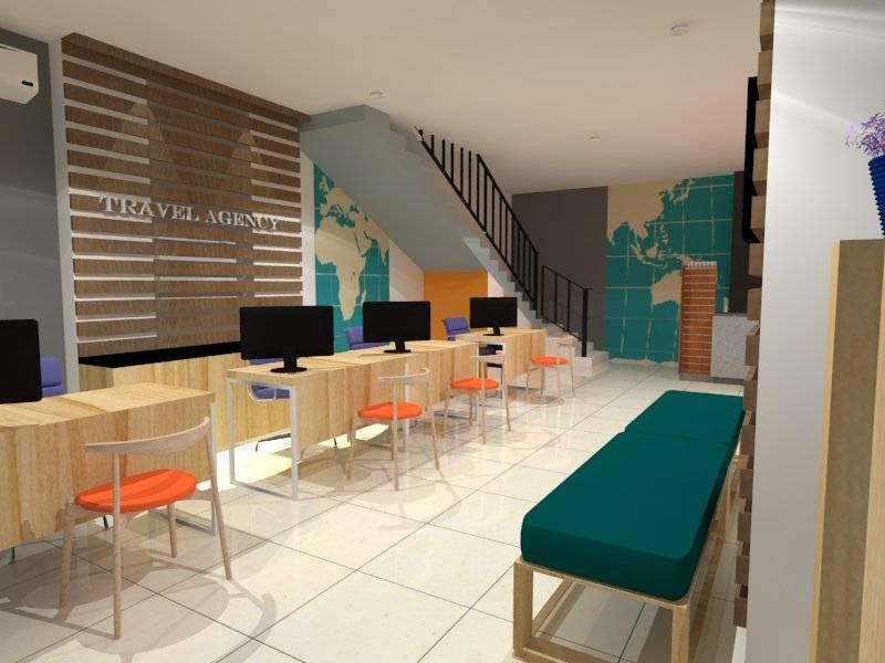 Nur Mala Sari Interior Design For Travel Agency Ruko Pino Green Pramuka Apartment Ruko Pino Green Pramuka Apartment Customer Area  6674