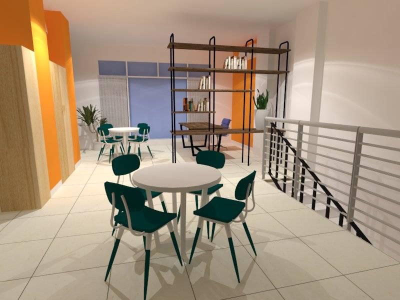 Nur Mala Sari Interior Design For Travel Agency Ruko Pino Green Pramuka Apartment Ruko Pino Green Pramuka Apartment Seating Area  6675