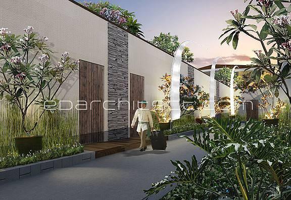 Ed Architect Cendrawasih Villa Bali, Indonesia Bali, Indonesia Perspective Modern 6696