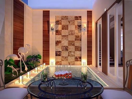 Ed Architect Townhouse Melrose At Cilandak Jakarta, Indonesia Jakarta, Indonesia Pool2 Tropis 6744
