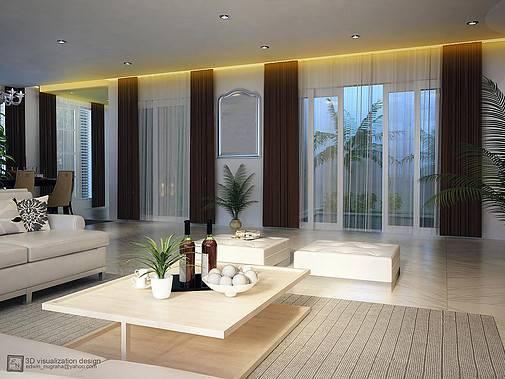 Ed Architect Townhouse Melrose At Cilandak Jakarta, Indonesia Jakarta, Indonesia Livingroom Kontemporer 6768