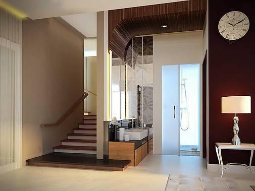 Ed Architect Townhouse Melrose At Cilandak Jakarta, Indonesia Jakarta, Indonesia Wc Kontemporer 6771