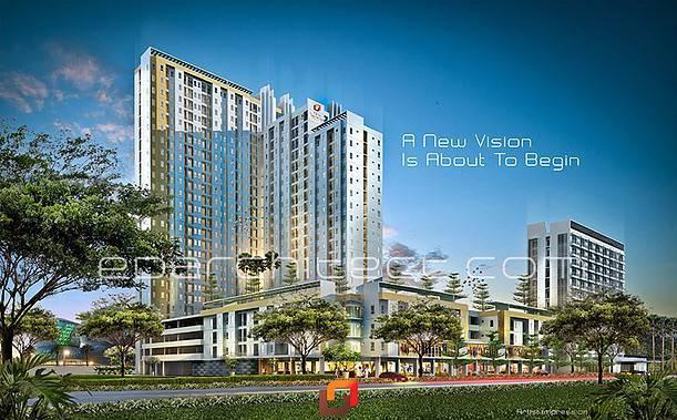 Ed Architect One Sentosa Apartment Bekasi, Indonesia Bekasi, Indonesia Facade-View3 Modern 6718