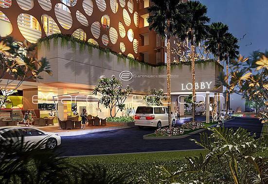 Ed Architect Elpis Apartment At Gunung Sahari Jakarta, Indonesia Jakarta, Indonesia Lobby  6756