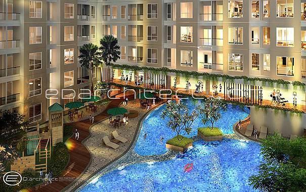 Ed Architect Elpis Apartment At Gunung Sahari Jakarta, Indonesia Jakarta, Indonesia Pool-Aerial  6757