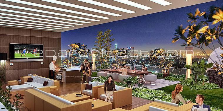 Ed Architect Elpis Apartment At Gunung Sahari Jakarta, Indonesia Jakarta, Indonesia Roof-Garden  6758
