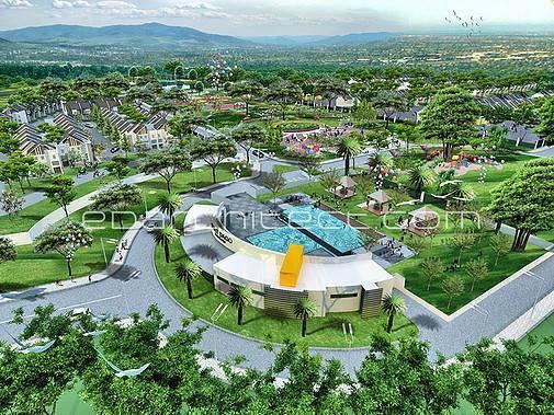 Ed Architect Bukit Dago Residence Serpong, Inodnesia Serpong, Inodnesia Bird-Eye-View Modern 6761