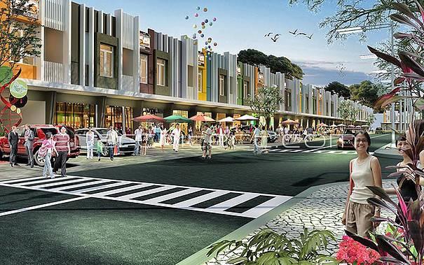 Ed Architect Bukit Dago Residence Serpong, Inodnesia Serpong, Inodnesia Shophouse Modern 6762