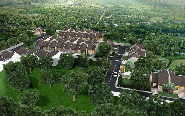 Ed Architect Sahid Mansion At Bintaro Jakarta, Indonesia Jakarta, Indonesia Bird-Eye-View Minimalis 6765