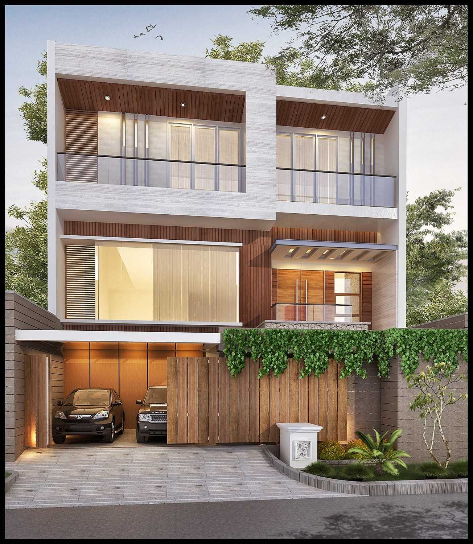 Ed Architect Modern Private House 2 Kelapa Gading, North Jakarta City, Jakarta, Indonesia Kelapa Gading, North Jakarta City, Jakarta, Indonesia R8Final-Mr-Handy-View-01 Modern 34391