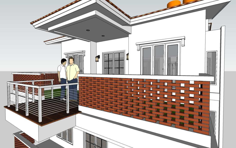 Budi Dharma Tropical House Jakarta Barat Jakarta Barat 17-Roof-Garden Minimalis 24114