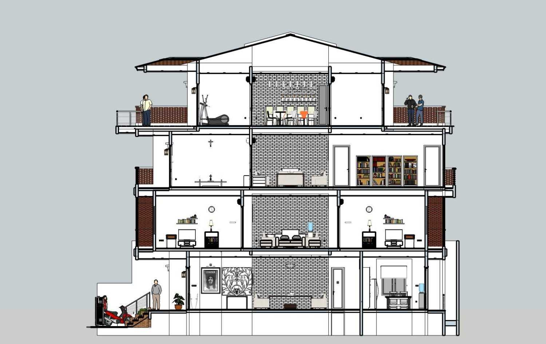 Budi Dharma Tropical House Jakarta Barat Jakarta Barat 00-Potongan-09 Minimalis 24116