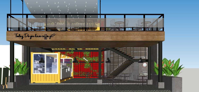Sujud Gunawan Studio Soci@l Cafe-Bar-Kitchen Sunter, Jakarta Sunter, Jakarta Front View Industrial 16772