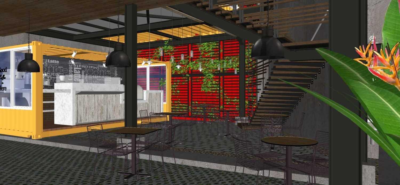 Sujud Gunawan Studio Soci@l Cafe-Bar-Kitchen Sunter, Jakarta Sunter, Jakarta Dining Area Industrial 16773