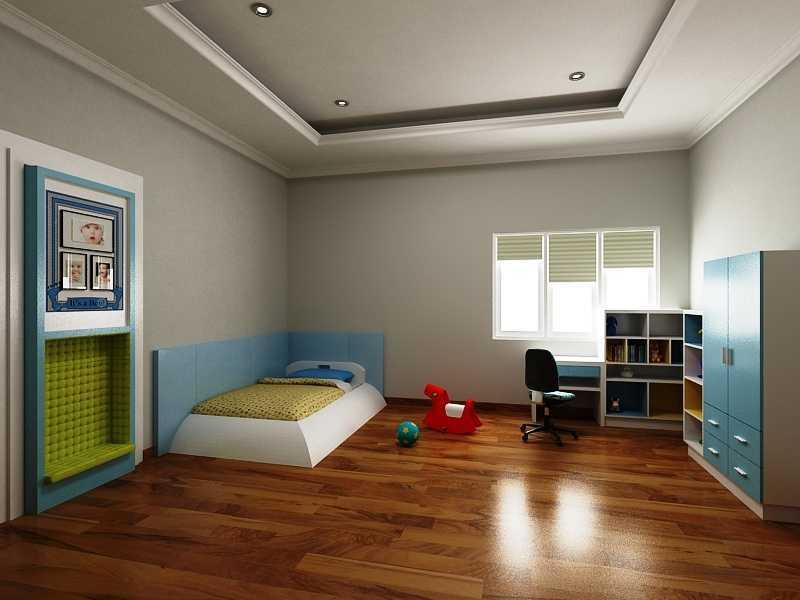 Foto inspirasi ide desain kamar tidur anak kontemporer Kids bedroom oleh sujud gunawan studio di Arsitag